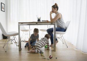 Comment avoir un métier compatible avec des enfants en bas âges
